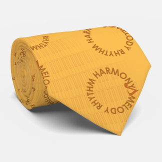 MELODY RHYTHM HARMONY (the diacritic brown Tie