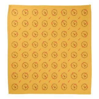 MELODY RHYTHM HARMONY (yellow background color red Bandana