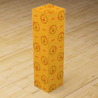MELODY RHYTHM HARMONY (yellow) Wine Gift Box