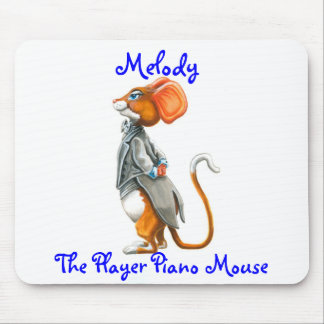 Melody, The Player Piano Mousepad