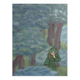 Melodynn, Anime Art Gallery Character Postcard