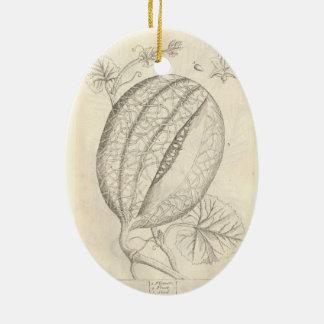 Melon Christmas Ornament