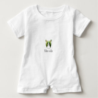 melon collie baby bodysuit