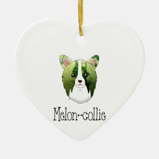 melon collie christmas ornament