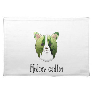melon collie placemat