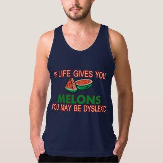 Melon Dyslexia Tank Top