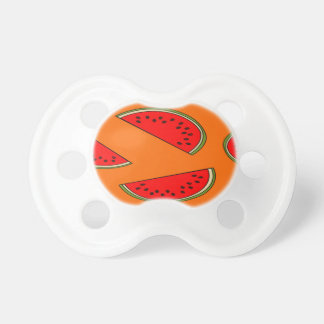 Melon fruit pattern baby pacifier