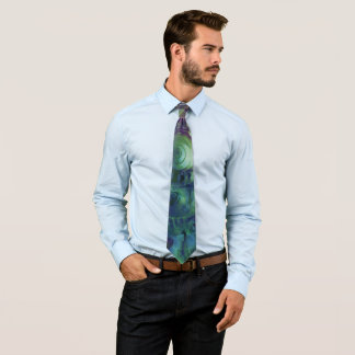 Melon Shell Abstract Tie