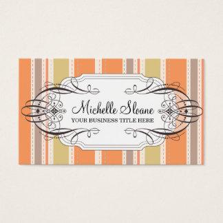 Melon Stripes Business Card
