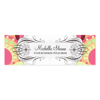 Melon Surprise Modern Profile Card Template Pack Of Skinny Business Cards