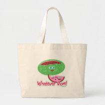 Melon Whatever Mum! Large Tote Bag