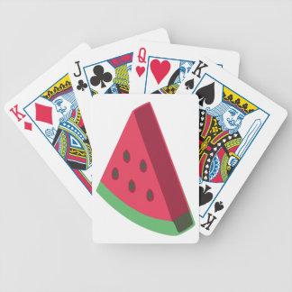 Melonhead Logo Poker Deck