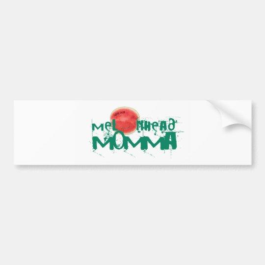 Melonhead Momma Stickers