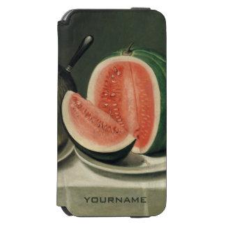"""""""Melons"""" art custom wallet cases Incipio Watson™ iPhone 6 Wallet Case"""