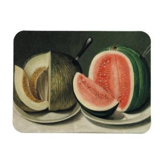 """""""Melons"""" art magnet"""