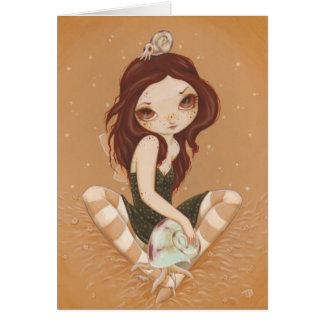 Melony - Fairy Cthulhu snail card