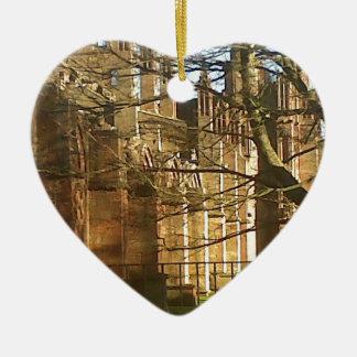 Melrose Abbey Christmas Ornament