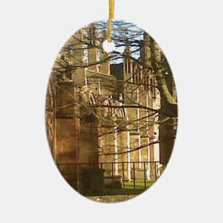 Melrose Abbey Christmas Ornament