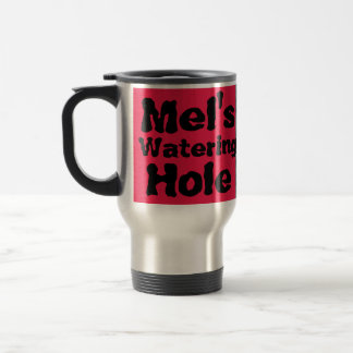 Mel's Watering Hole-The Face On Mars-Cydonia Stainless Steel Travel Mug