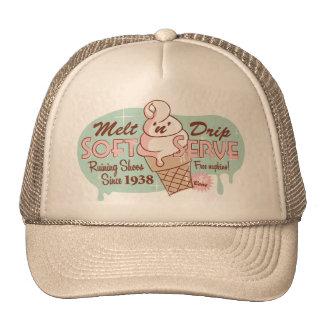 Melt 'n' Drip Soft Serve Ice Cream Hat (Khaki)