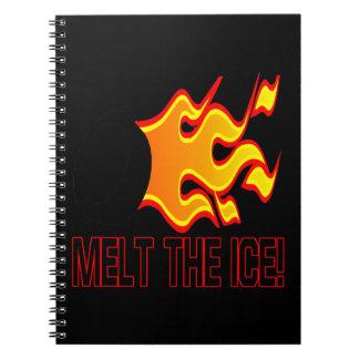 Melt The Ice Notebook