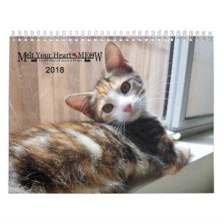 Melt Your Heart - MEOW 2018 Kitten Calendar
