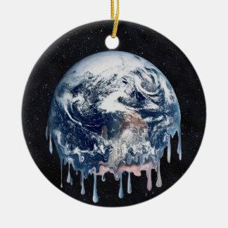 Meltdown (Full Universe Background) Round Ceramic Decoration