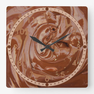 Melted Chocolate Clock