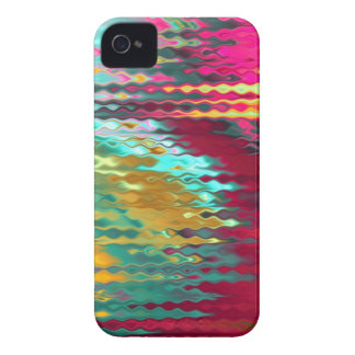 Melted colored glass look Iphone case