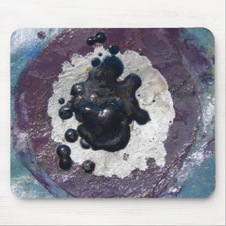 Melted Crayon Puddle Abstract Mouse Mat
