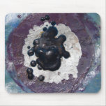 Melted Crayon Puddle Abstract Mousepad