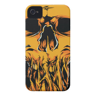 Melted Dead Metal Punk Goth iPhone 4 4s Case