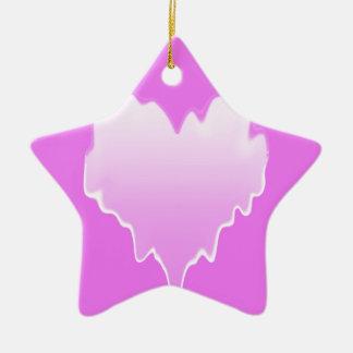 Melted Heart.jpg Ceramic Star Decoration