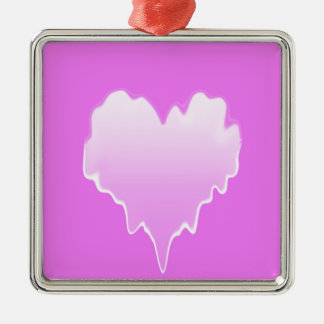 Melted Heart.jpg Christmas Ornament
