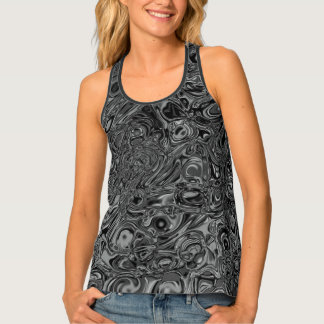 Melted Silver Beauty Tank Top