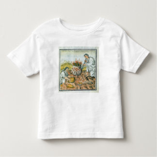 Melting and casting gold in the Aztec empire Toddler T-Shirt