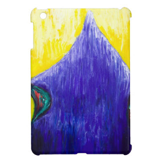 Melting Blue Pope (religious surrealism) Case For The iPad Mini