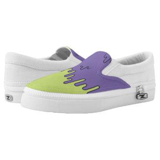 Melting colour slipons slip on shoes