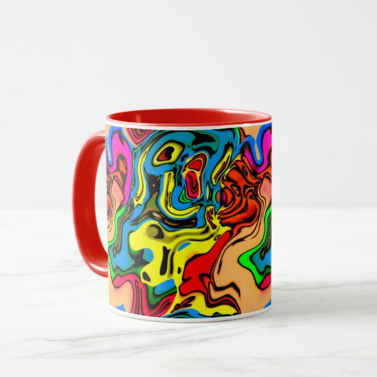 Melting Colours Coffee Mug