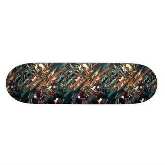 Melting Copper Abstract Skate Board Decks