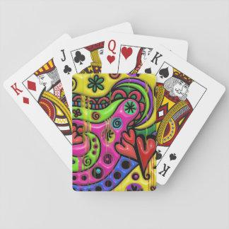 Melting Flashback Playing Cards
