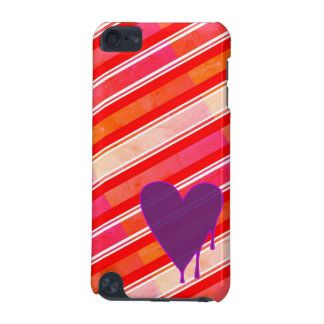 Melting Heart Purple iPod Touch (5th Generation) Covers
