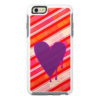 Melting Heart Purple OtterBox iPhone 6/6s Plus Case