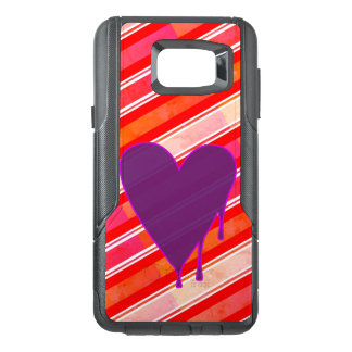 Melting Heart Purple OtterBox Samsung Note 5 Case