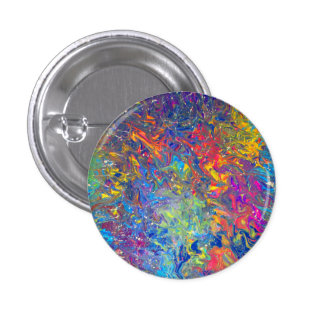 Melting Pot 3 Cm Round Badge