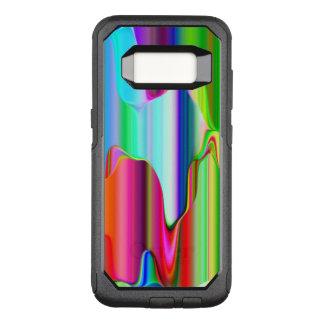 Melting Rainbow OtterBox Commuter Samsung Galaxy S8 Case