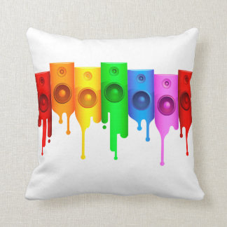 Melting Speakers American MoJo Pillow Throw Cushion