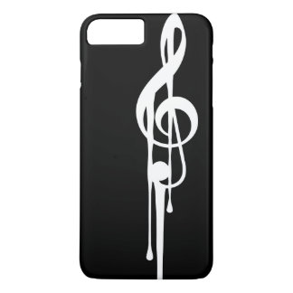 MELTPOINT BLACK White G-Clef Custom Color iPhone 7 Plus Case