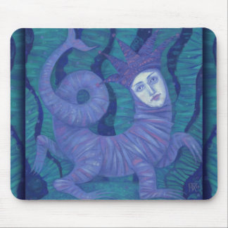 Melusine, Melusina, fantasy, surreal, water spirit Mouse Mat