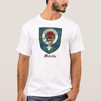 Melville Clan Crest Badge Tartan T-Shirt